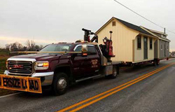 Shed Delivery offered in Bucks County PA, Montgomery County PA, New Hope PA