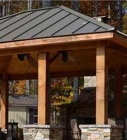 Wood Pergolas offered in Bucks County PA, Montgomery County PA, New Hope PA